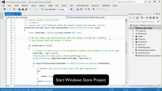 Windows 8 App Dev 101: Creating Your First App - Preview Video
