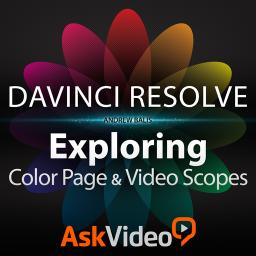 DaVinci Resolve 102 The Color Page & Video Scopes Product Image
