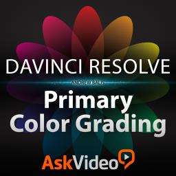 DaVinci Resolve 103 Primary Color Grading Product Image