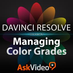 DaVinci Resolve 105 Managing Color Grades	 Product Image
