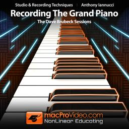 Recording The Grand Piano The Dave Brubeck Sessions Product Image