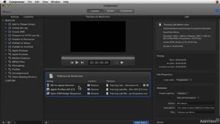 16. Creating a Transcoding Batch