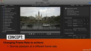 21. Changing Frame Rates