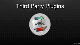 7. Third Party Codecs