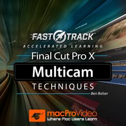 Final Cut Pro FastTrack 202Multicam Techniques Product Image