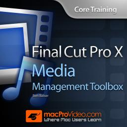 Final Cut Pro X 204 Media Management Toolbox Product Image