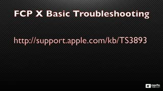 30. Troubleshooting
