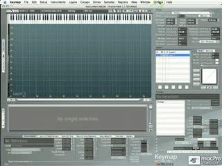 10. Open an EXS Instrument in Keymap