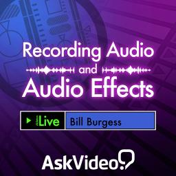 Live 9 102 Recording Audio and Audio Effects Product Image