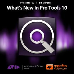 Pro Tools 10 100 What's New In Pro Tools 10 Product Image