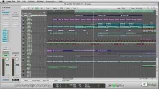 34. Recording MIDI & Audio in Logic
