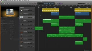 12. Tracks Area Editing Tools