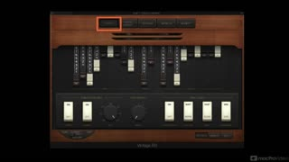 Logic Pro FastTrack 114: Vintage B3 Organ - Preview Video