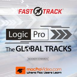 Logic Pro FastTrack 105The Global Tracks Product Image
