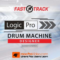 Logic Pro FastTrack 203 Drum Machine Designer Product Image