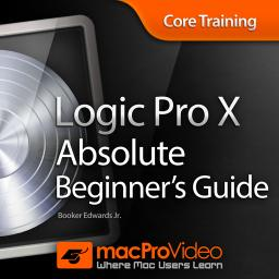 Logic Pro X 100Absolute Beginner's Guide Product Image