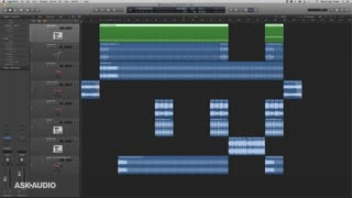 2. MIDI to Audio via Bounce in Place