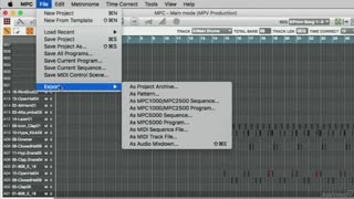 41. Export as Audio Mixdown