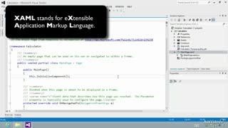 6. Introduction to Extensible Application Markup Language (XAML)