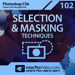 Photoshop CS6 102 Selection & Masking Techniques Product Image