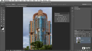 28. Creating Layer Masks with Color Range