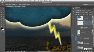 9. Layers Panel: Transparent Pixels, Layer Opacity and Fill Opacity