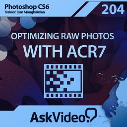 Photoshop CS6 204 Optimizing Raw Photos with ACR7 Product Image