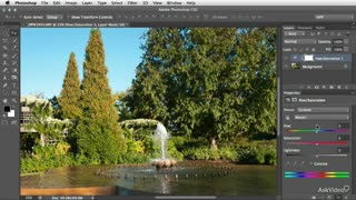50. Adjustment Layer: Tweaking Color Intensity with Vibrance