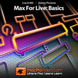 Live 8 405 Max For Live: Basics Product Image