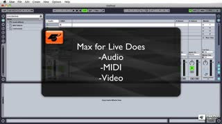 Live 8 405: Max For Live: Basics - Preview Video