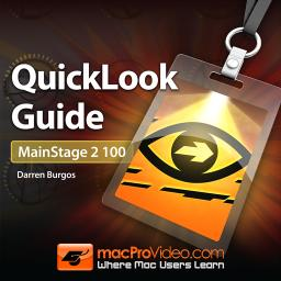 MainStage 2 100 QuickLook Guide Product Image