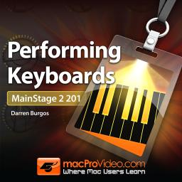 MainStage 2 201 Performing Keyboards Product Image