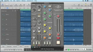24. SSL 4000  Channel Strip Compressor Overview