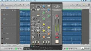 25. SSL 4000 Channel Strip Compressor on Drums
