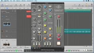 26. SSL 4000 Channel Strip Compressor on Vocals