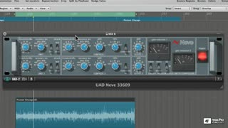 29. Neve 33609 Compressor on Master Buss