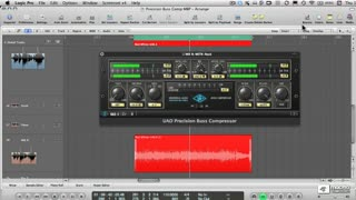 33. Precision Buss Compressor on Master Buss