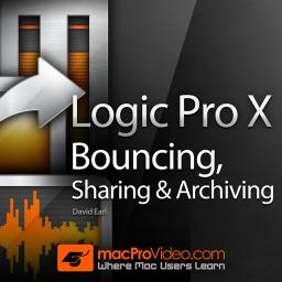 Logic Pro X 112 Bouncing, Sharing and Archiving Product Image