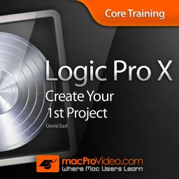 Logic Pro X 101 Core Training: Create Your 1st Project Product Image