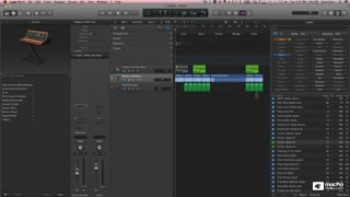 Logic Pro X 101: Core Training: Create Your 1st Project - Preview Video