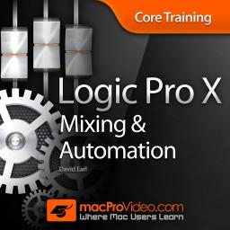 Logic Pro X 105 Core Training: Mixing and Automation Product Image