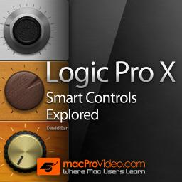 Logic Pro X 107 Smart Controls Product Image