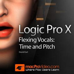 Logic Pro X 108 Flexing Vocals: Time and Pitch Product Image