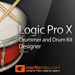 Logic Pro X 202 Drummer and Drum Kit Designer Product Image