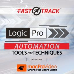 Logic Pro FastTrack 103Automation Tools and Techniques Product Image