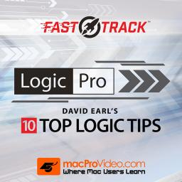 Logic Pro FastTrack 301David Earl's 10 Top Logic Tips Product Image