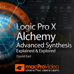 Logic Pro X 210Alchemy - Advanced Synthesis Explained and Explored Product Image