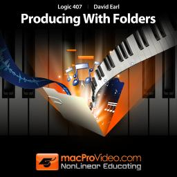 Logic 407Producing With Folders Product Image