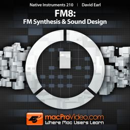 Native Instruments 210 FM8: FM Synthesis and Sound Design Product Image