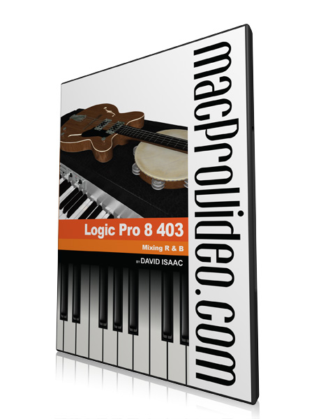 Logic 8 403: Mixing R&B